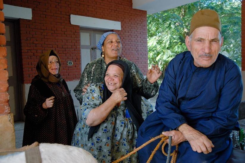 Leprosy Colony Abu Zaabal in Egypt
